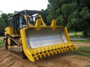 Bulldozer Root Rake Earthmoving Contractors