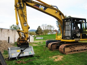 stump removal machineries