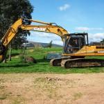 Mansfield Plant Hire - Excavator