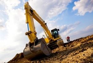 digging pipe holes