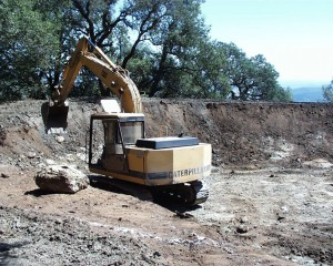 Mansfield Dam Construction